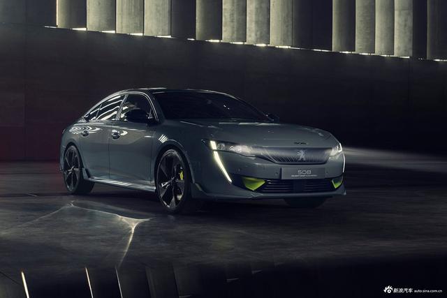 标致508运动版概念车官图 将于车展发布
