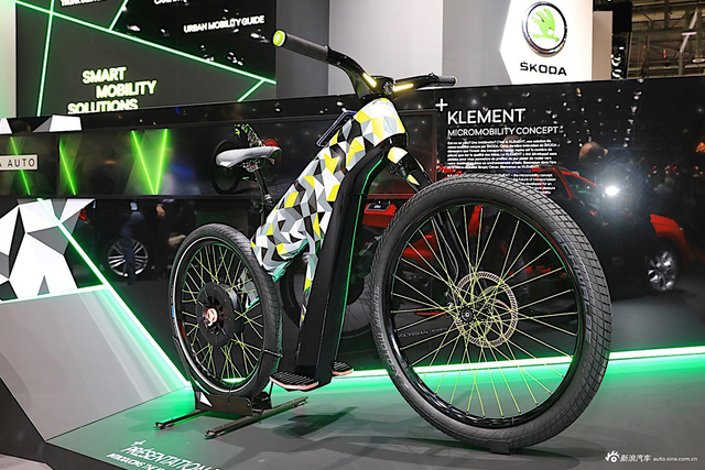 """下注""""微出行""""  斯柯达推出Klement电动两轮车"""