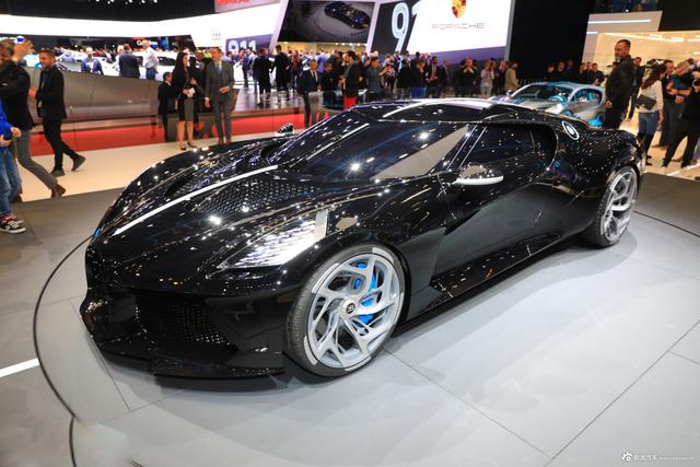 布加迪La Voiture Noire跑车 售价创纪录近亿元