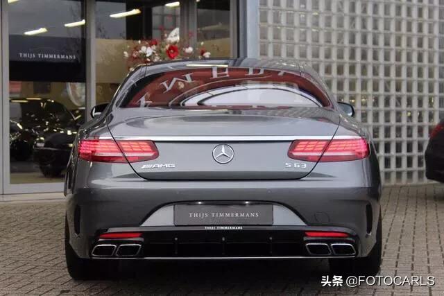 实拍 | 新一代奔驰S63 AMG,短轴美无暇,内饰是真无解