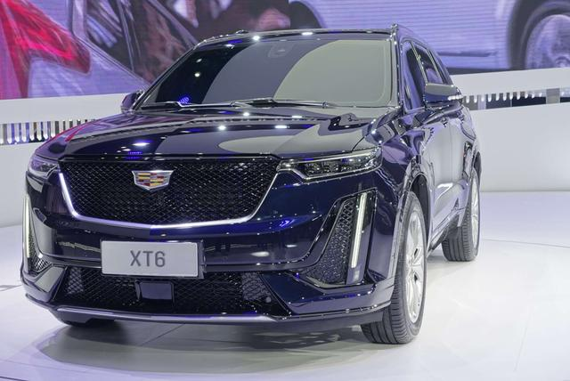 凯迪拉克XT6豪华SUV在上海车展正式发布,可选6座或7座