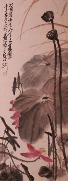 齐白石盛赞的画家——安徽八老:萧龙士图片