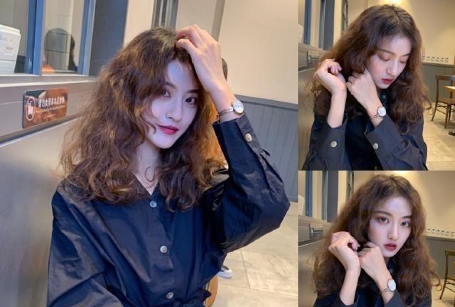 2019女生流行发型图片 中长发烫发造型让你美爆整个春节!