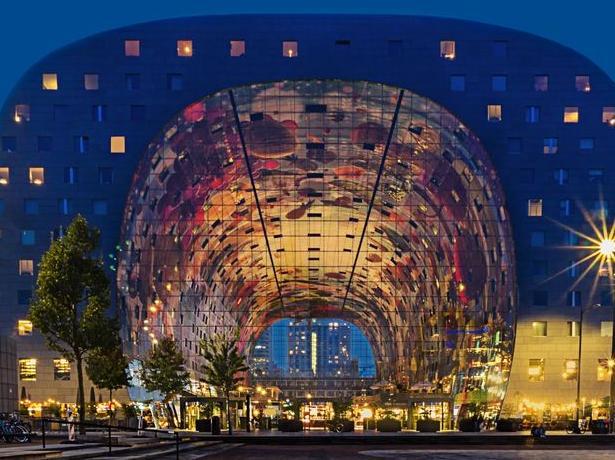 """北京""""大裤衩""""团队设计,为什么这个建筑可以美成这样?图片"""
