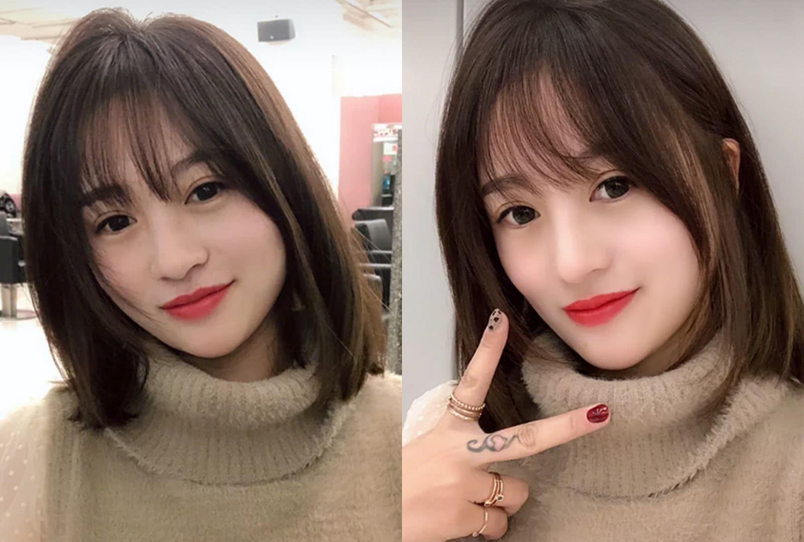 2019减龄发型直发 2019减龄发型刘海图片