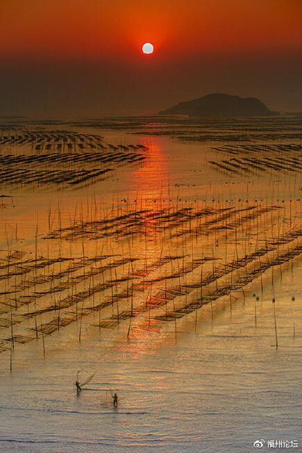 这里是福建霞浦,这里的日出很美~