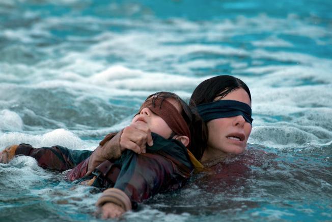 珊卓布拉克新片太吓人,《蒙上你的眼》观众直呼吓到不