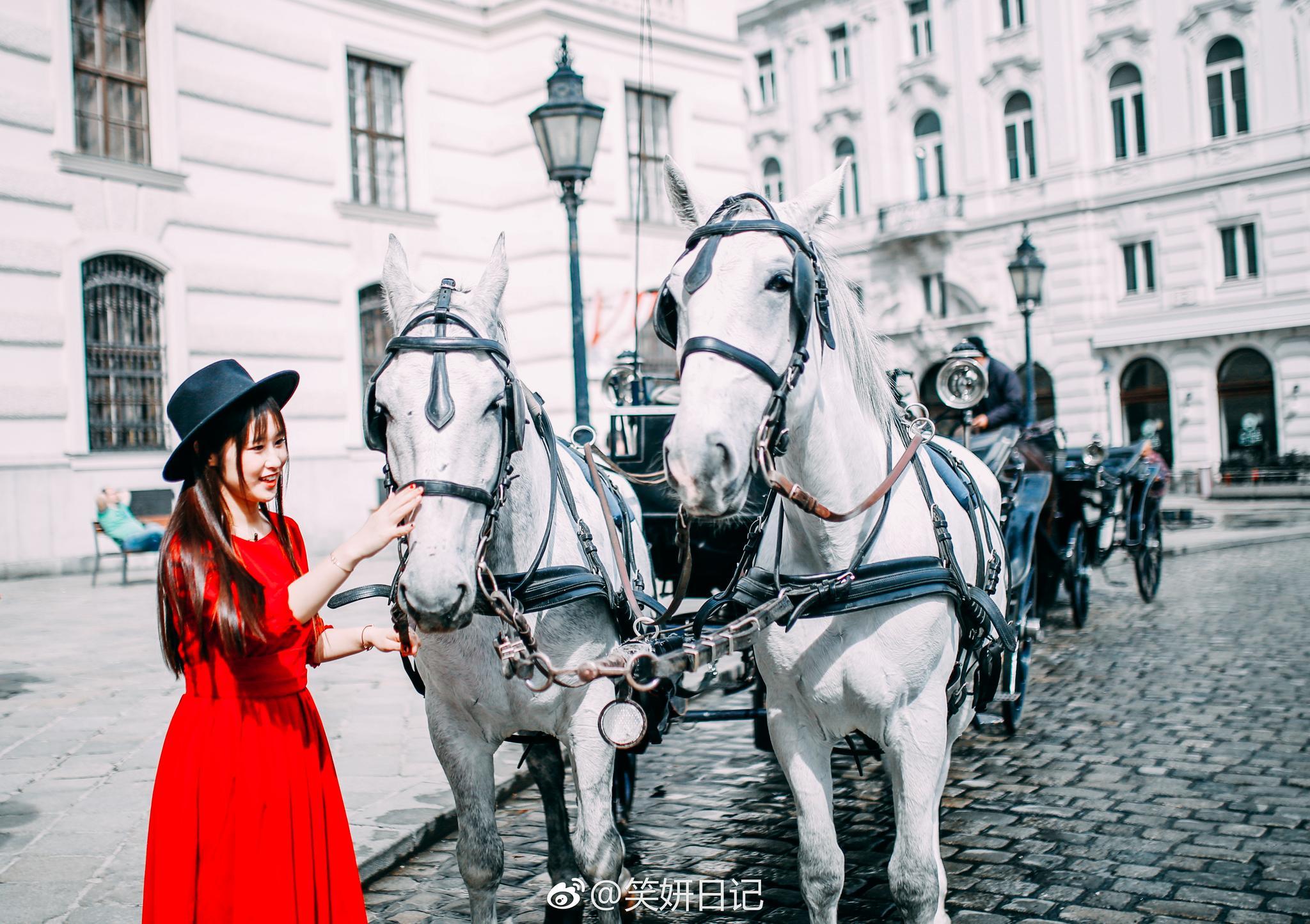 走在维也纳的戒指路、老城区