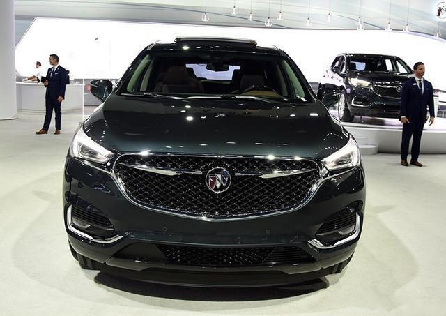 进口别克昂科雷,定位精准的大型SUV,动力强劲造型魁梧