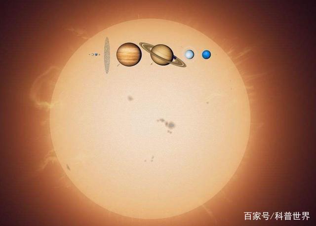 八大行星加到一起,能成为一颗恒星吗?太阳系只厚爱太阳啊