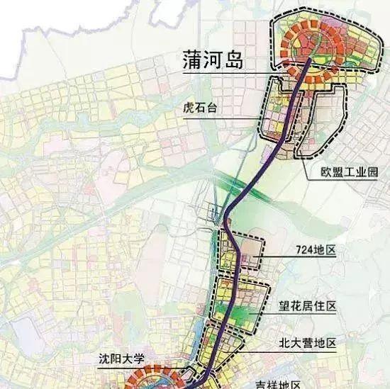 沈阳地铁4号线有新进展了 2年后这些地方不得了