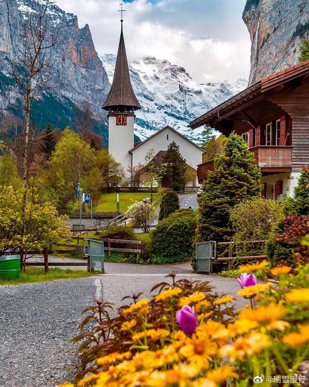 一年四季美如画的瑞士 乡村千万别错过