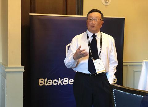 CES 2019丨黑莓CEO程守宗:短期不做手机 专注数据安全与车载系