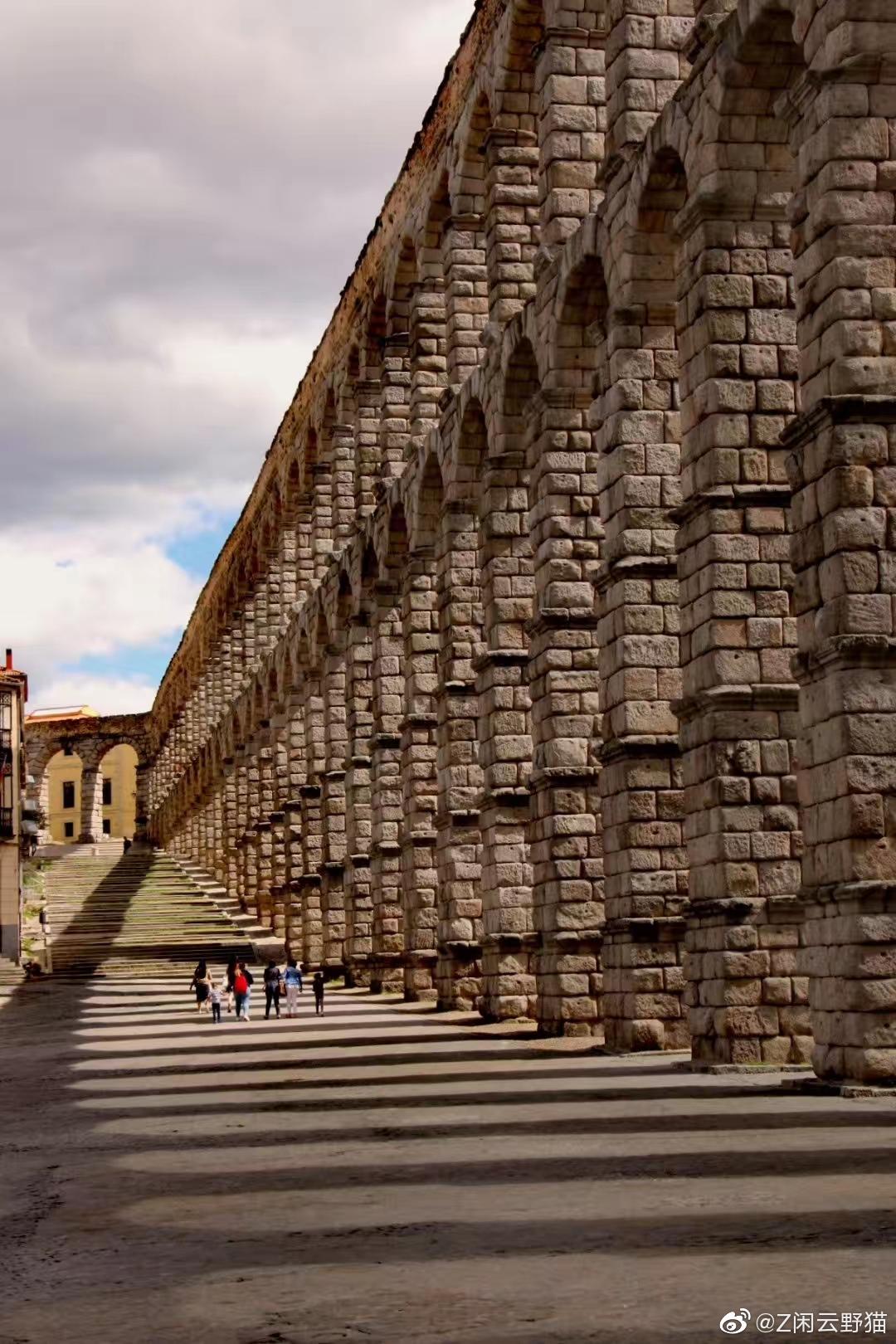 西班牙塞戈维亚古城