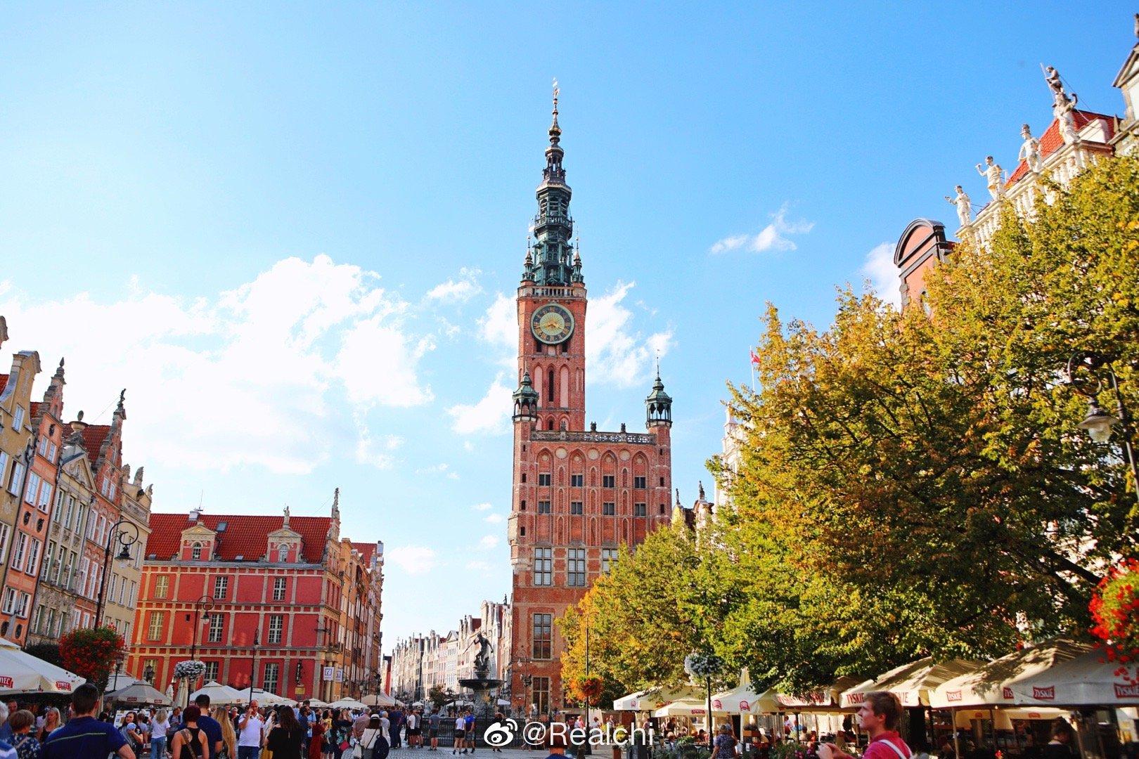波兰超级美的城市格但斯克