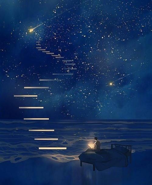 写给心累的自己说说,句句温柔暖人心,陪你安然入睡!图片