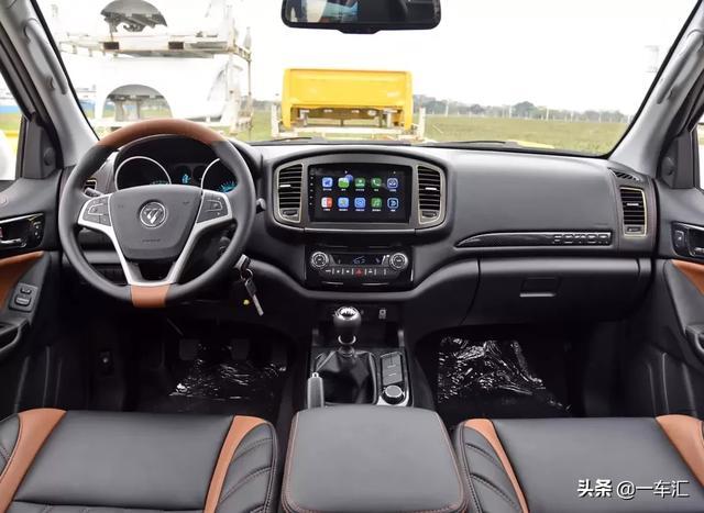 搭载2.0T汽油发动机,福田新款拓陆者E7,打造年轻人喜欢的皮卡