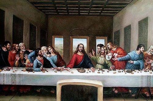 图看《最后的晚餐》多了一只手,这可能是第14人,还是一名妓女?