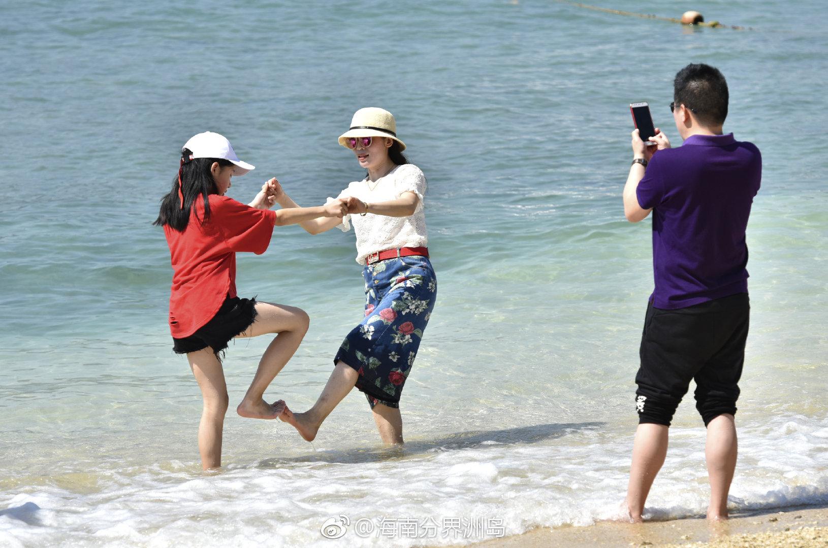 美丽的分界洲岛,总是能带给孩子们惊喜