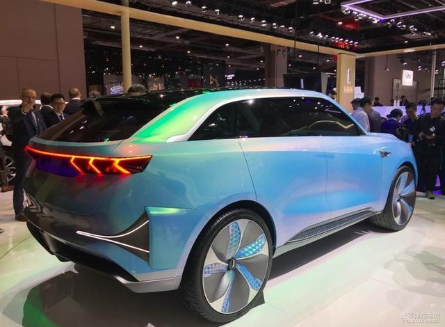 2019上海车展:WEY概念车WEY-X正式亮相
