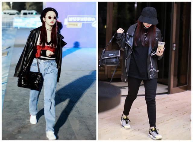 孟美岐进时尚圈吧,小西装配阔腿裤太时髦,不可能是邋遢的女生!