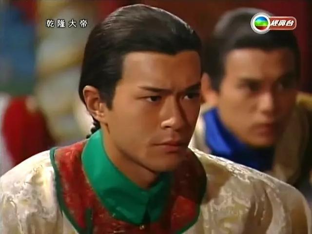 1998年,28岁的古天乐主演清装剧《乾隆大帝》,饰演一代帝王乾隆.