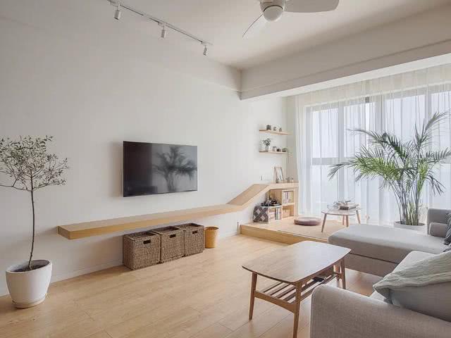 80㎡小户型装修成日式风格,温润的原木色充满禅意,简约又清新