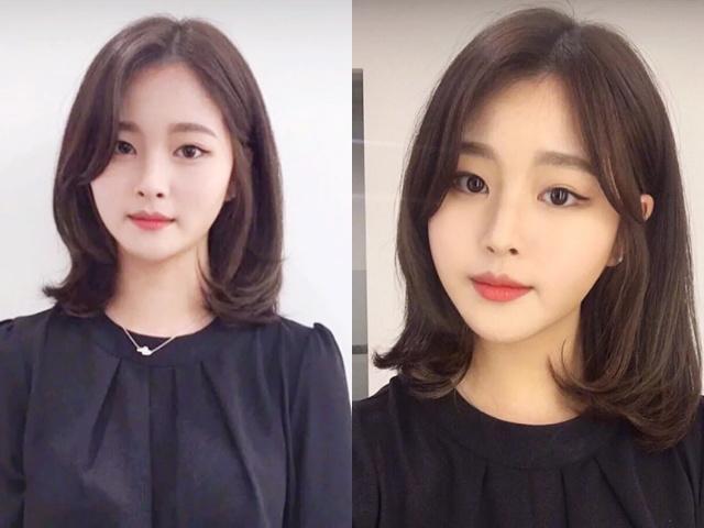 2019年最流行的长刘海锁骨发,谁剪了都超显气质,还显脸小!
