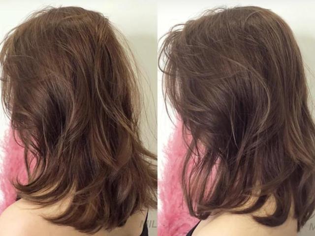 2019年很流行的奶茶棕色发型,时髦又衬托肤色图片