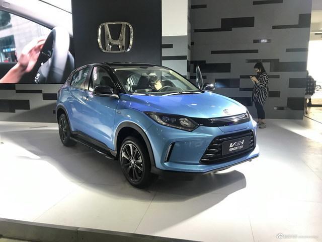 2019海口车展探馆:广汽本田VE-1