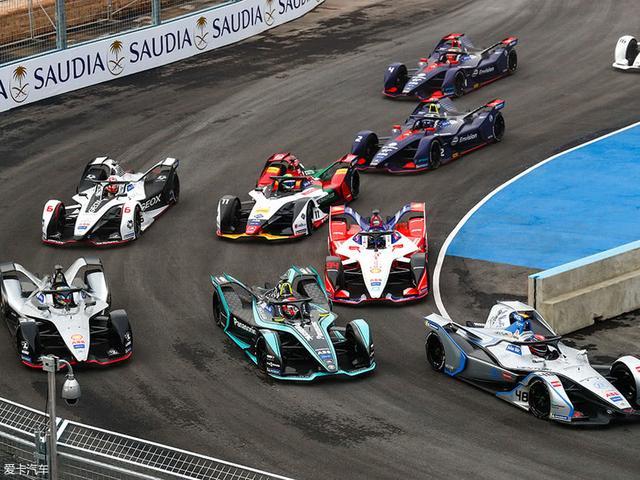 颠覆传统赛车 fe电动方程式新赛季开启图片