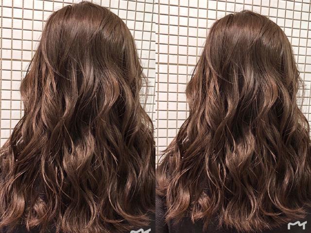 """2019年最流行的""""背烫""""发型,方便打理,还超美!图片"""