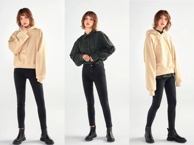 2019年最潮的搭配:短靴牛仔裤,谁穿谁时髦!