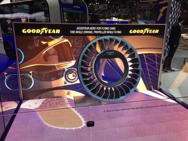 日内瓦国际车展豪车云集,却被一款轮胎抢足了风头?