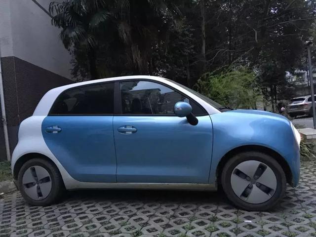 一款适合女生盘的电动车 自主最萌欧拉R1