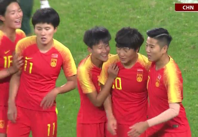 中国女足2019首球诞生:仅用8分钟KO非洲冠军