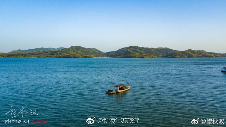 春日份的翠绿天目湖
