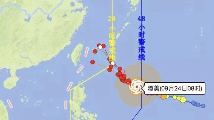 潭美升级为超强台风还有两个台风胚胎 浙江人小心了