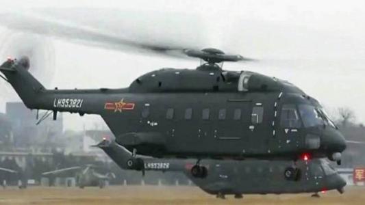 直�yaY�Z[_中国宽体直升机与美军海上种马相比差距在哪里?
