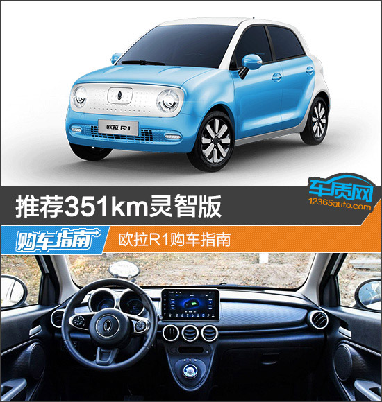 推荐351km灵智版 欧拉R1购车指南