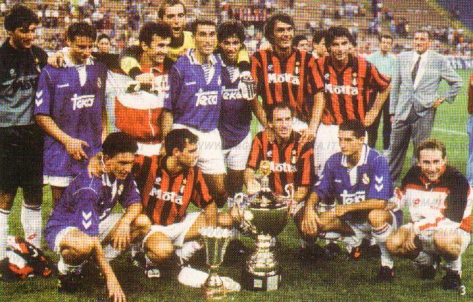 米兰队史上的今天:1993年贝卢斯科尼杯AC米兰进球大战3比2胜皇马
