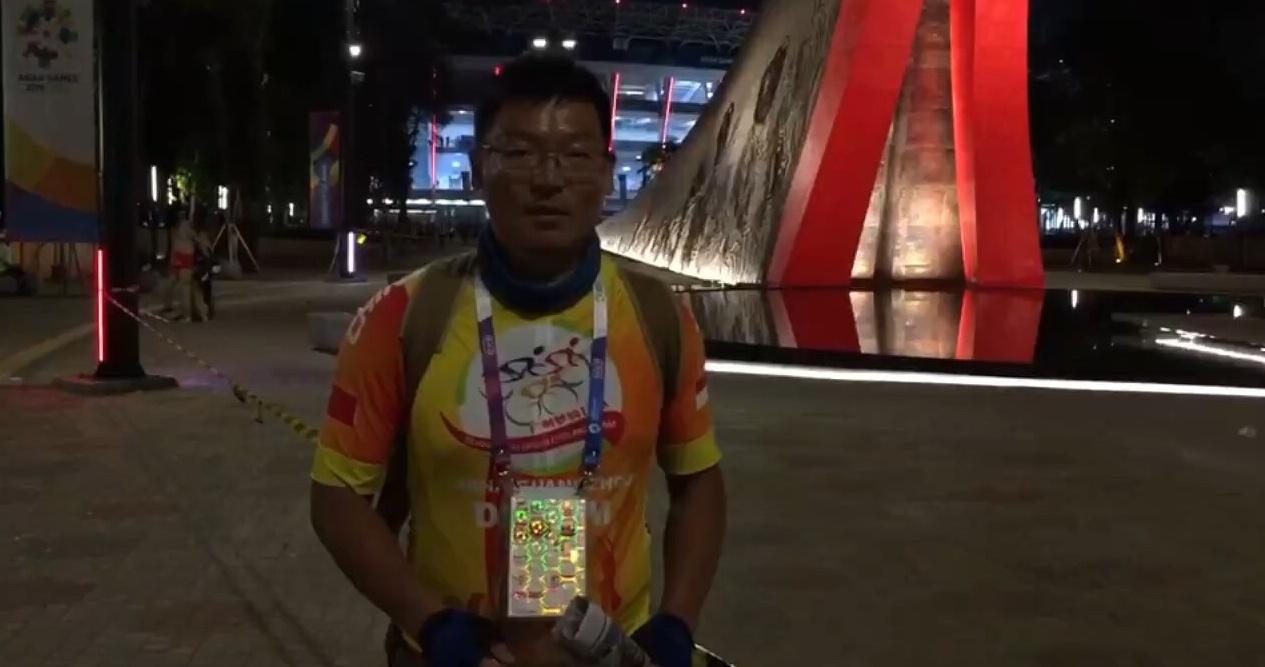 广州参考·广州日报记者带你看雅加达亚运会开幕式