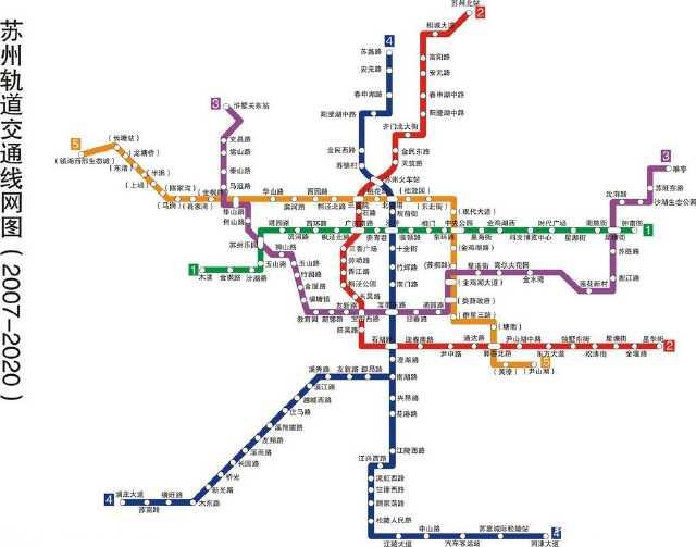 江苏地铁大盘点:南京6号线,无锡s1,苏州接上海,常州1号线图片