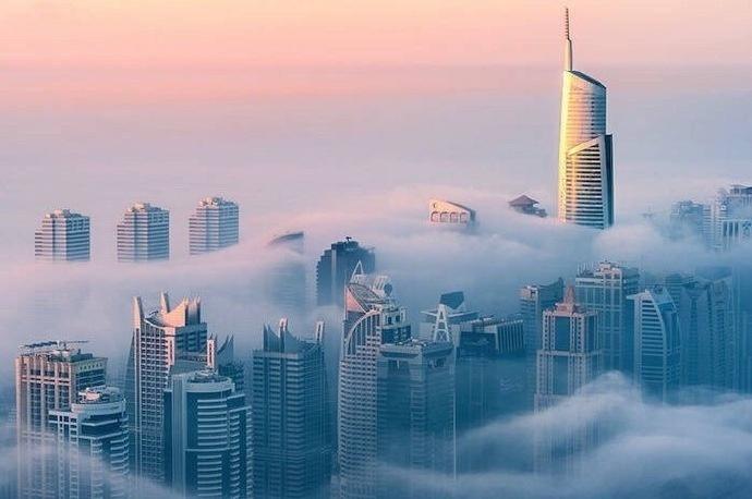 迪拜,沙漠里的奇迹都市