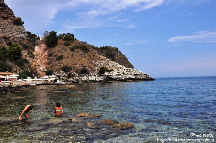 西西里的精致小城 陶尔米纳醉人海景