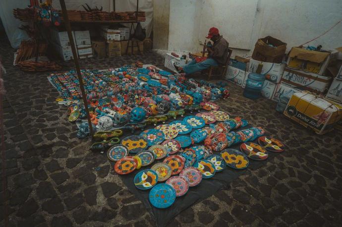 墨西哥,一个有着浓郁的印第安古文化底蕴的地方