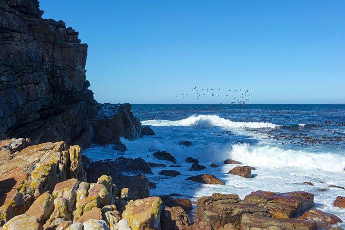 非洲最南的好望角,世界上最危险的海域却壮丽到极致
