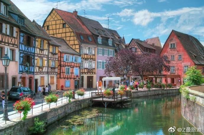 小镇科尔马,邂逅法国的浪漫。   