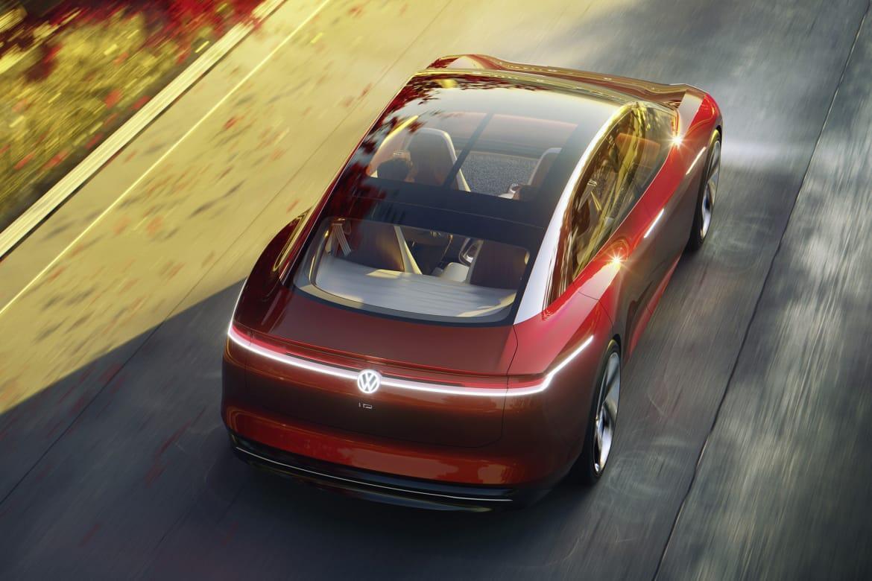 大众ID Vizzion概念车在日内瓦首次亮相