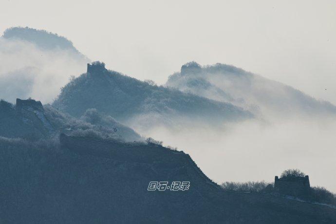 春雪落满京城,绝美最是箭扣